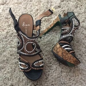 Lisa for Donald J Pliner Danisa sandals 7.5